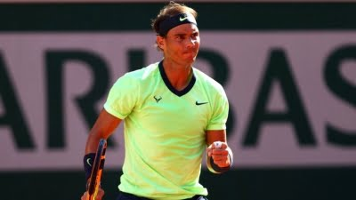 French Open: Nadal enters semis with thumping win over Schwartzman