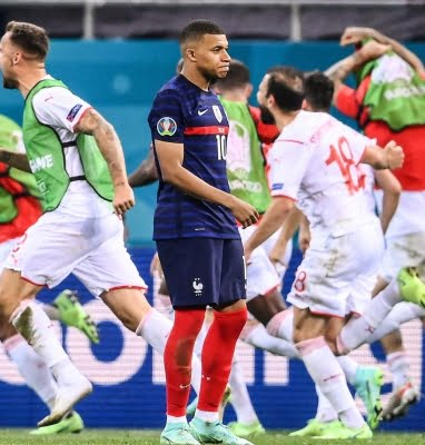 Swiss win appreciated, but ex-footballers say don't revile Mbappe