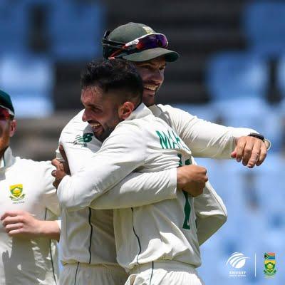 South Africa crush West Indies, win Test series 2-0