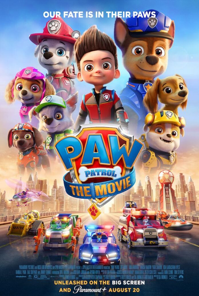 Watch trailer of Cal Brunker's 'Paw Patrol: The Movie'