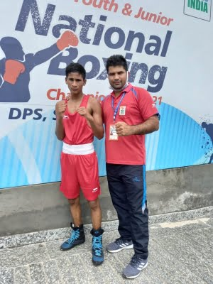 Jr National Boxing C'ships: Services emerge champions