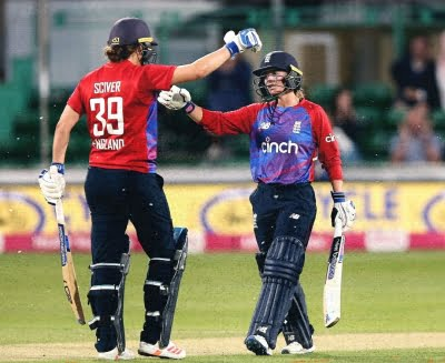 Danielle powers England to T20 series win over India