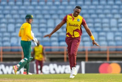 Bravo bags 4 as WIndies level T20I series vs South Africa