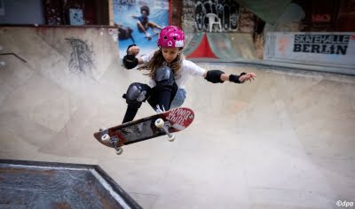 Skateboarding a guideline for life, says Germany's youngest Tokyo athlete