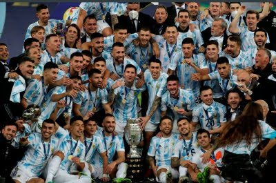 Indians revel in Argentina's win at Copa America