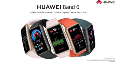 Huawei unveils affordable Band 6 in India
