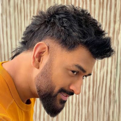MS Dhoni catches fans by surprise with faux-hawk hairstyle