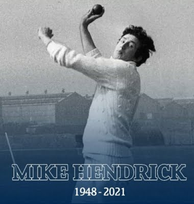 Ex-England pacer Hendrick, who shook India in 1974, no more
