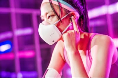 LG adds mic, speakers to face mask for smooth conversations