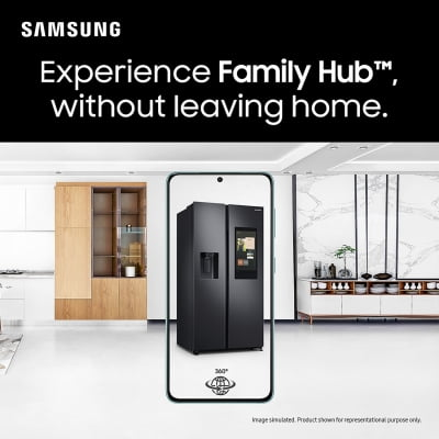 Now experience flagship Samsung products at home via AR