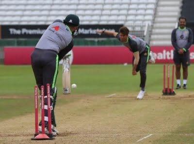 Pak bowlers' practice in England affected by inclement weather
