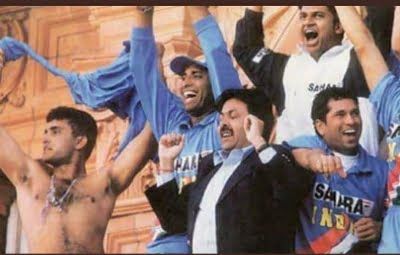 Ganguly's wife, teammates relive iconic Lord's celebration