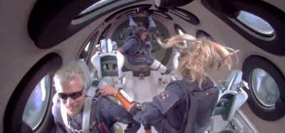Space is for all humanity: 'Astronaut' Richard Branson
