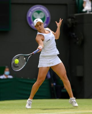Moment of pure excitement: Ash after entering Wimbledon final
