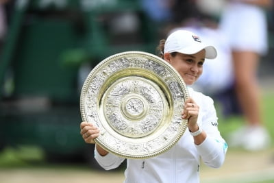 Wimbledon: Ashleigh wins final in three sets to clinch title