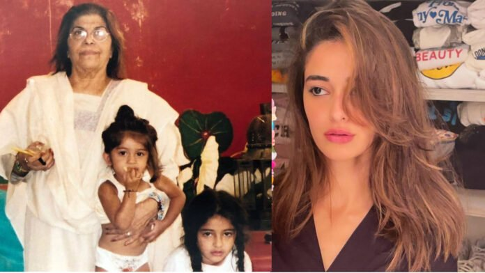 Ananya Panday pens emotional note after grandmother's death