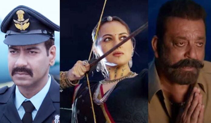 Bhuj The Pride Of India Dialogues Ajay Devgn and Sonakshi Sinha's inspirational dialogues