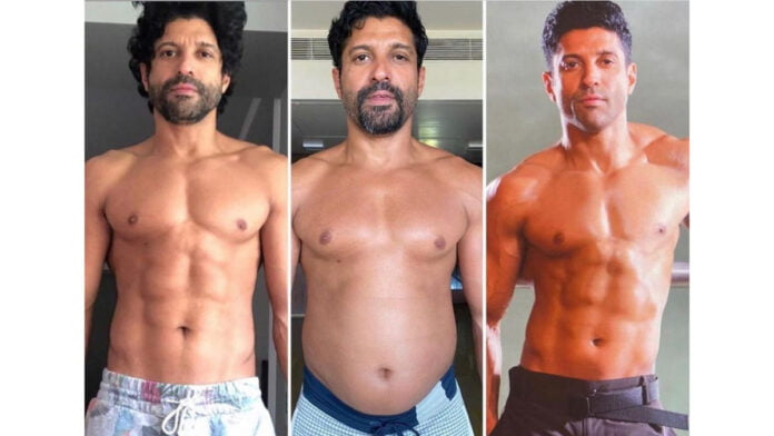 Farhan Akhtar's 'shapes and sizes' in 'Toofaan'