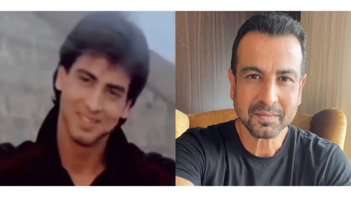 Ronit Roy 'then and now'