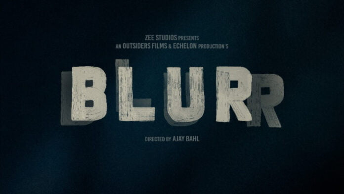 Taapsee Pannu turns producer with Ajay Bahl's 'Blurr'