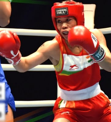 Mary Kom goes down fighting in pre-quarter finals