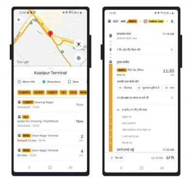 Google Maps to show real-time info on Delhi's cluster bus service