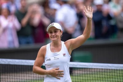 Wimbledon: Hope I made Evonne proud, says Ashleigh after title win