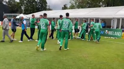 Three Ireland players fined, reprimanded for breaching ICC Code of Conduct