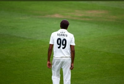 Ashwin warms up for England Tests with 6-wkt haul in county match