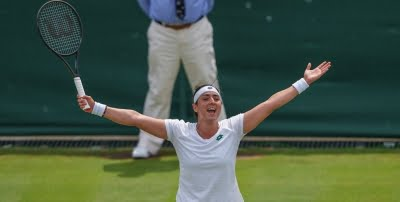 Wimbledon: Ons sets up quarter-final clash with Aryna after shock win