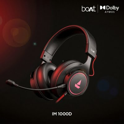 boAt unveils its 1st gaming headphone at Rs 2,499