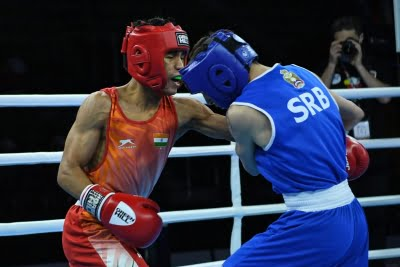 Chongatham moves into pre-quarters of Youth National Boxing