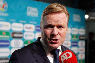 Barca coach Koeman 'confident' of Messi signing new contract