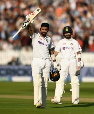 Rahul becomes 3rd Indian opener to hit century at Lord's