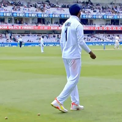 Lord's Test: Intruder tries to join Indian team, taken away by security