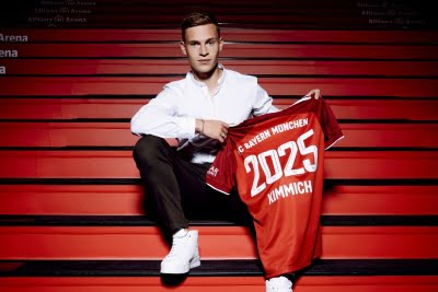 Joshua Kimmich extends contract with Bayern Munich till 2025