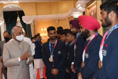 President hosts high tea for Olympians, says country proud of them