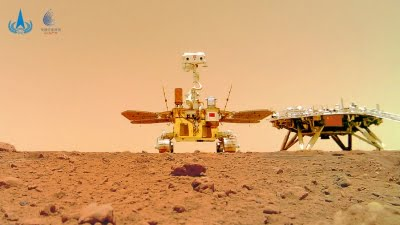 China's Mars rover accomplishes planned exploration tasks