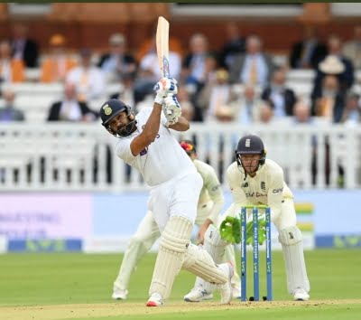 2nd Test: Rohit Sharma brings stability to the top