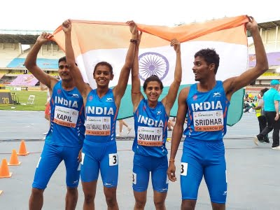 This is your moment to shine, Seb Coe tells Indian athletes after 4x400 mixed relay team wins bronze