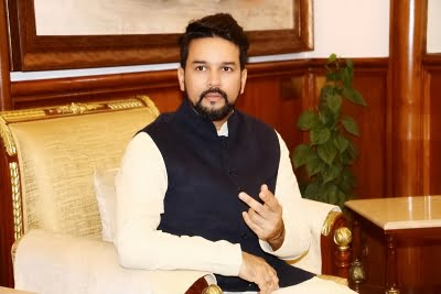 Turning out to be an epic National Sports Day: Anurag Thakur
