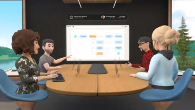 FB launches Horizon Workrooms for remote co-working in VR