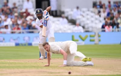 1st Test: Sharma, Rahul take India to 97/1 at lunch