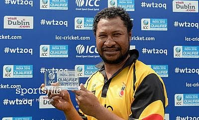 Ahead of T20 World Cup, PNG skipper Vala says ready for big test