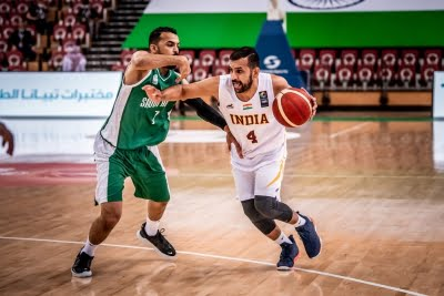 India lose to Saudi Arabia in Asia Cup basketball qualifiers