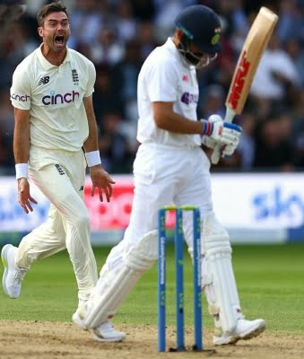 3rd Test: India fall to swing, England surge ahead (Ld)