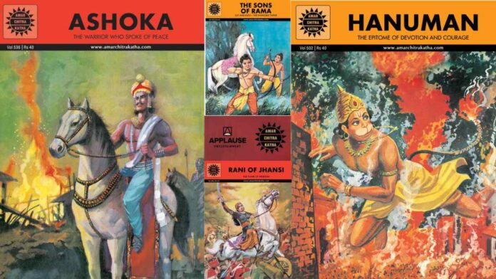 Applause with Amar Chitra Katha to adapt comics into animation