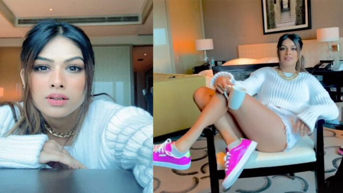 Bigg Boss OTT Nia Sharma is the wild card entry confirms by sharing toofani pictures