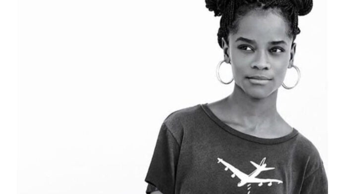Letitia Wright wants young filmmakers