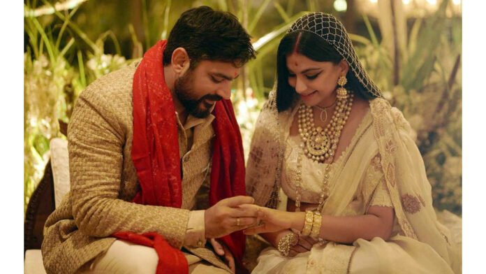 Rhea Kapoor shares her wedding-day pic